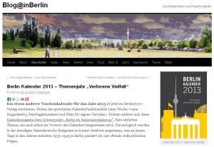 Blog@inBerlin