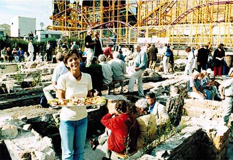 555 Jahre Schloss, Party in der Ausgrabung 1998_462