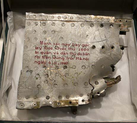 Alliierten Museum F105 abgeschossen Exp 66