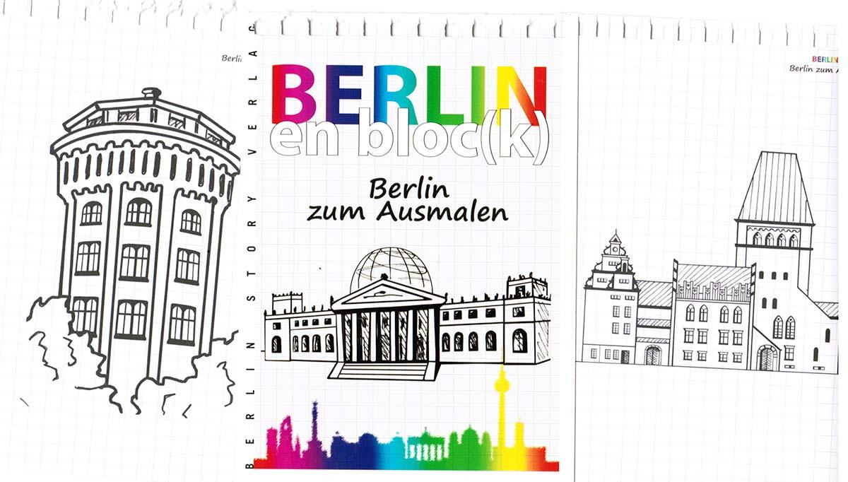 Berlin zum Ausmalen