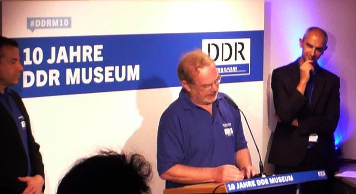 DDR Museum 10 Jahre 20160714 Dr. Stefan Wolle