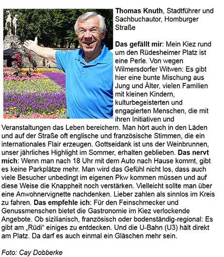Thomas Knuth im Tagesspiegel