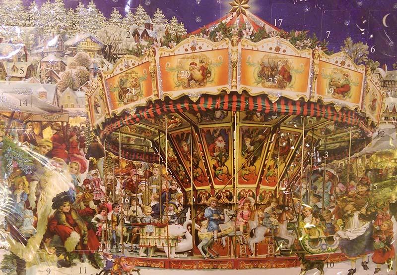 Adventskalender Karousell