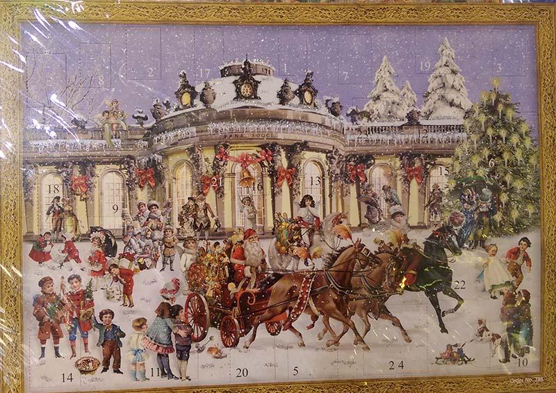 Adventskalender Sanssouci