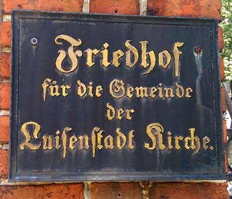 Duntze_Klaus_Schild Luisenstadt Friedhof